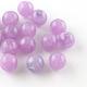 Round Imitation Gemstone Acrylic Beads(X-OACR-R029-6mm-M)-2