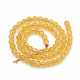 Natural Citrine Beads Strands(G-T064-71)-2