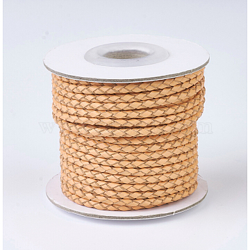 3mm SandyBrown Leather Thread & Cord