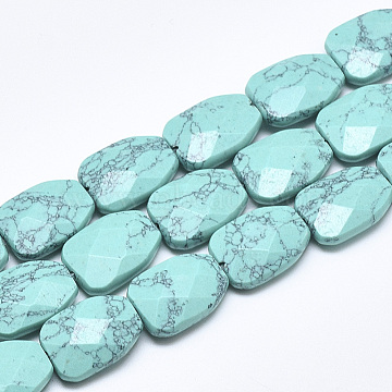 16mm Others Synthetic Turquoise Beads