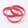 Rouge Silicone Bracelets(BJEW-J176-A-16)