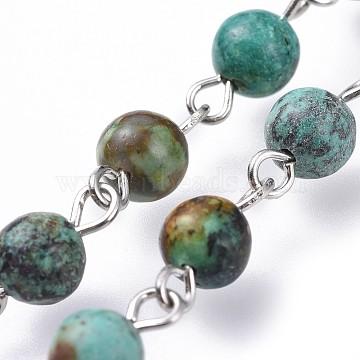 Natural Turquoise Handmade Chains Chain