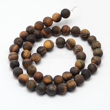 Natural Tiger Eye Beads Strands(G-D688-8mm)-2