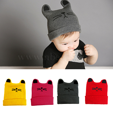 Mixed Color Hat Yarn Baby Garment Photography Props