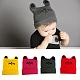 Handmade Crochet Baby Beanie Costume Photography Props(AJEW-Q126-M)-1