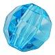 Transparent Acrylic Beads(X-PL990Y-5)-1