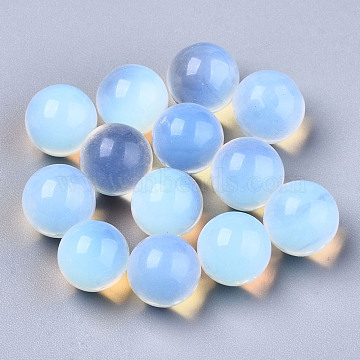 Opalite Beads, No Hole/Undrilled, Round, 8mm(G-R483-12-8mm)