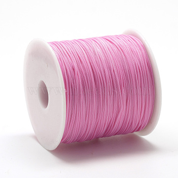 0.8mm HotPink Polyester Thread & Cord