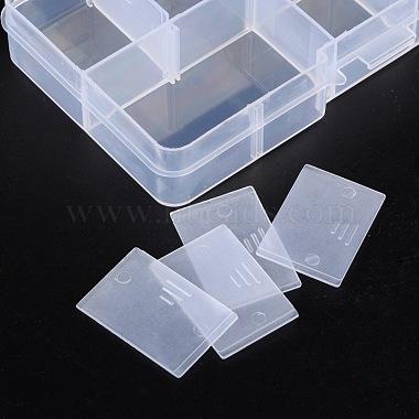 Plastic Clear Beads Display Storage Case Box(X-C006Y)-3