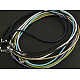 Woven Necklace Cord with Brass Clasp(X-NFS054)-1