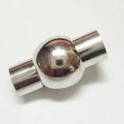 Fermoirs magnétiques en laiton, lanterne, mat couleur platine, 19x11mm, Trou: 5mm(X-KK-H306-P)