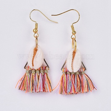 Colorful Polyester Earrings