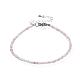 Natural Strawberry Quartz Bead Bracelets(BJEW-JB04555-05)-1
