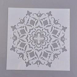 Dessiner des gabarits de peinture, blanc, 15x15x0.02 cm(DIY-WH0059-05A)