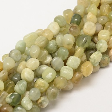 9mm Nuggets Xiuyan Jade Beads