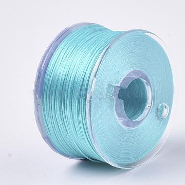 0.1mm Cyan Polyester Thread & Cord