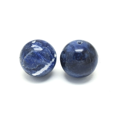Natural Sodalite Beads(G-F222-39A-16mm)-2