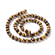 Natural Tiger Eye Round Bead Strands(G-L411-07-6mm)-3