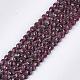 Natural Garnet Beads Strands(G-S354-42A)-1