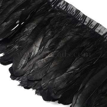 Black Feather Feather Ornament Accessories