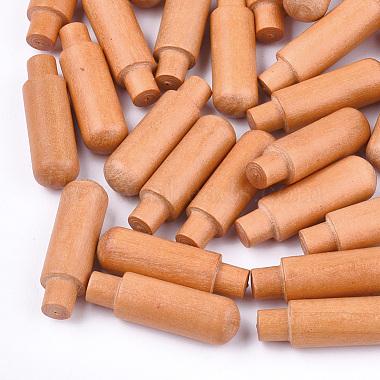 des billes de bois naturel(X-WOOD-T018-03F)-1