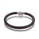Leather Braided Cord Bracelets(BJEW-E352-21P)-1