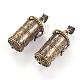 Brass Prayer Box Pendants(KK-E737-44AB)-1