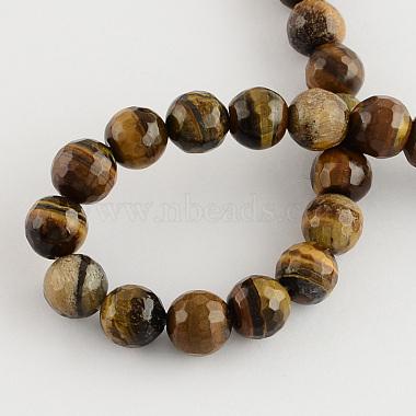 Natural Tiger Eye Round Bead Strands(X-G-R203-4mm)-2