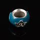 Mixed Rondelle Shape Alloy European Rhinestone Beads(X-ENAM-13D-M)-3