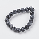 Natural Snowflake Obsidian Beads Strands(X-G-G515-10mm-01)-2