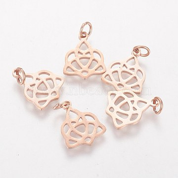 Rose Gold Others Stainless Steel Pendants