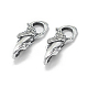 Thai Sterling Silver Lobster Claw Clasps(STER-L055-057AS)-1