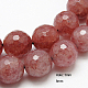 Natural Strawberry Quartz Beads Strands(G-G213-8mm-18)-1