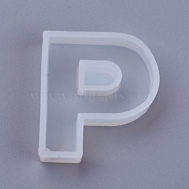 White Alphabet Silicone