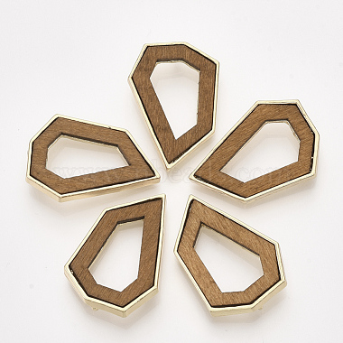 Camel Polygon Wood Pendants
