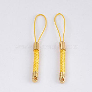 Gold Nylon Cord Loop