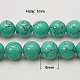 Synthetic Turquoise Beads Strands(X-TURQ-H038-6mm-XXS11)-2