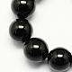 Natural Obsidian Bead Strands(X-G-R173-6mm-02)-1