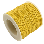 1mm Gold Waxed Polyester Cord Thread & Cord(YC-R003-1.0mm-110)