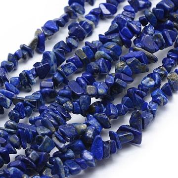 7mm Chip Lapis Lazuli Beads