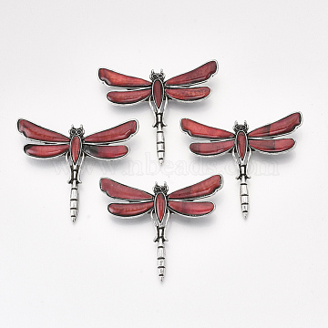 Red Shell Safety Brooch