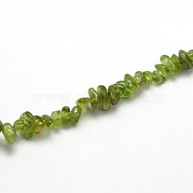 Natural Peridot Beads Strands(X-G-O049-A-07)-3