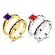Fashion Brass Cubic Zirconia Rings(RJEW-BB20711-G-7)-1
