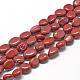 Natural Red Jasper Beads Strands(G-R445-8x10-09)-1