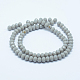 Faceted Rondelle Glass Beads Strands(GLAA-I033-4mm-M)-2