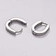 304 Stainless Steel Hoop Earrings(X-EJEW-E192-04P)-1