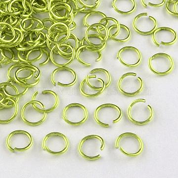 GreenYellow Ring Aluminum Open Jump Rings