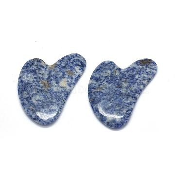 PrussianBlue Heart Blue Spot Stone