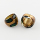 Handmade Gold Sand Lampwork Wide Band Rings(RJEW-Q150-M14-B)-2