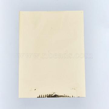 A4 Hot Stamping Foil Paper, Transfer Foil Paper, Elegance Laser Printer Craft Paper, Lemon Chiffon, 28.5x21.1cm; 5sheets/set(DIY-WH0151-35J)
